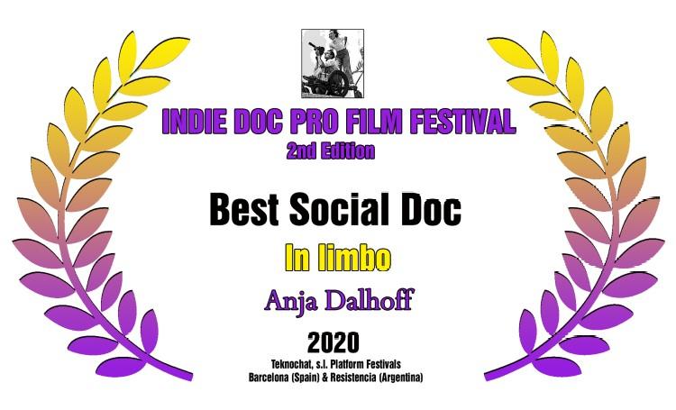 """Pris til """"I Limbo"""" fra Indie Doc Festival i Barcelona"""